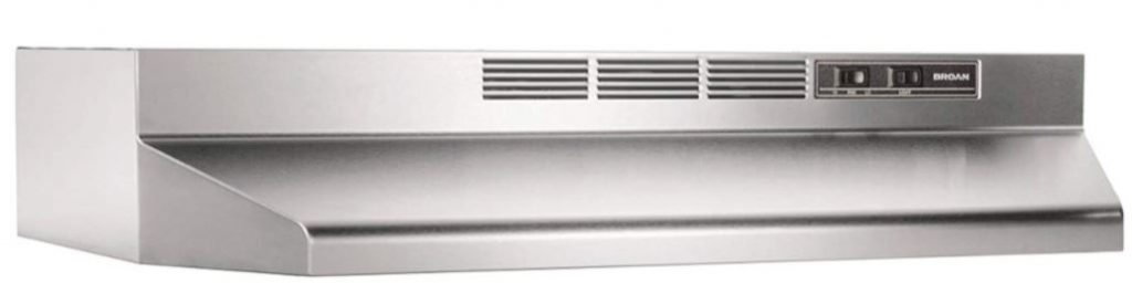 Broan-NuTone 413004 Non-Ducted Ductless Range Hood