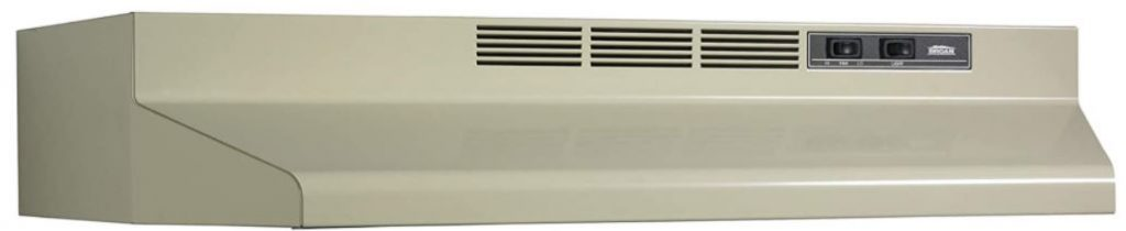 Broan-NuTone F403008 Two-Speed Four-Way Convertible Range Hood,