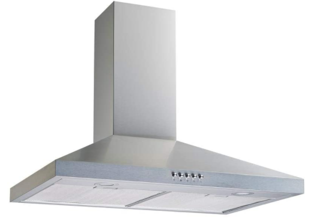 Winflo 30 Convertible Stainless Steel Wall Mount Range Hood with Stainless Steel Baffle filters
