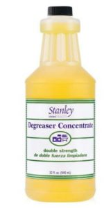 STANLEY HOME PRODUCTS Degreaser Concentrate range hoods