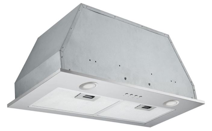 Ancona Inserta Chef Built-In Range Hood, 28-Inch, Stainless Steel